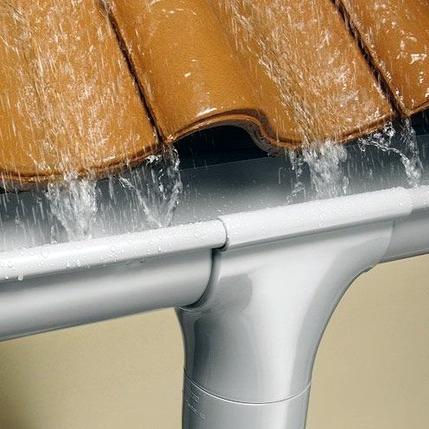 Системы водосточные из канализационных труб